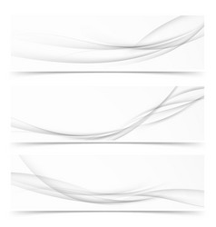 collection of three minimalistic grayscale soft vector image