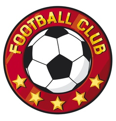 Football club symbol vector