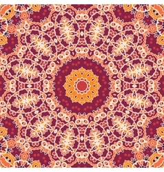 Mandala Tile Seamless Ornamental Symmetry Pattern vector