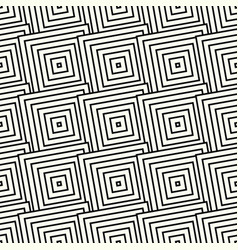 Pattern with square print seamlessly repeatable vector