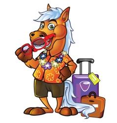 Pony Tourist vector