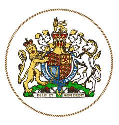 Royal seal vector