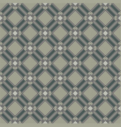 Seamless gray cell background vector