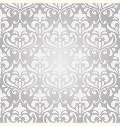 seamless vintage floral pattern on gradient backgr vector image vector image