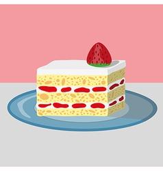 Strawberry shortcake vector