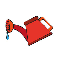 Watering can icon image vector