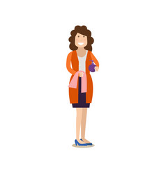 spa people concept flat vector image