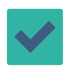Accept icon vector