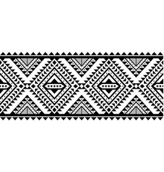 aztec style ornament vector image