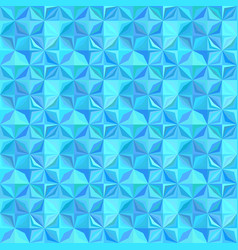 Blue repeating striped mosaic tile pattern vector