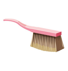 brush for cleaning icon cartoon style vector image