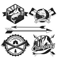 Camping2 vector