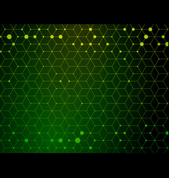 dark green medical geometric pattern vector image