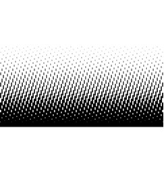 Halftone rounded lines oblique gradient background vector