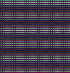 Matrix modern touch display Seamless pattern macro vector image