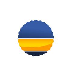 quality emblem vector image