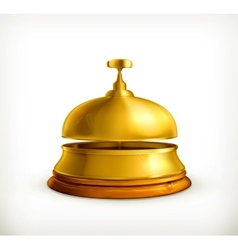 Reception Bell vector image