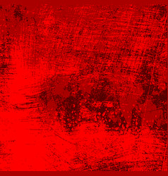 Red grungy texture vector