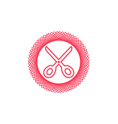 scissors icon sign symbol vector image