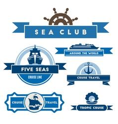 Cruise logo vector image
