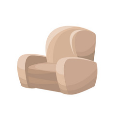 sofa chair furniture image vector image