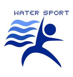 Water sport vector
