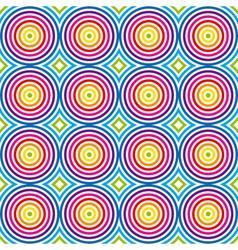 vintage colorful pattern vector image