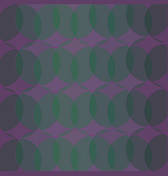 Abstract geometric pattern circles ring vector