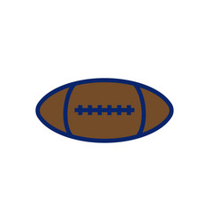 American foot ball logo icon inspiration isolated vector