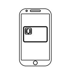 bank credit card vector image