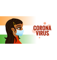Coronavirus protection in public place vector