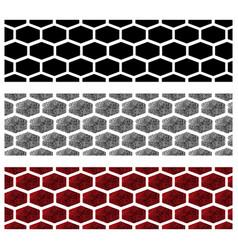 fingerprint tire tracks vector image