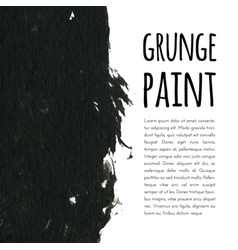Grunge paint background for vector