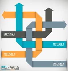 Interlaced Arrows vector