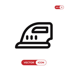 ironing icon vector image
