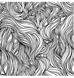 natural texture decorative hand drawn doodle vector image