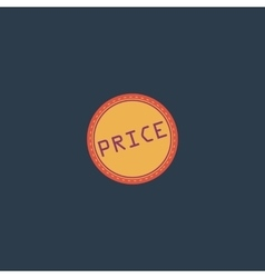 Price Icon Badge Label or Sticker vector image