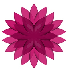 Purple Wheel Flower transparent vector