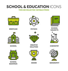 school education university study learning vector image