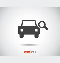 Search car icon eps set logo vector