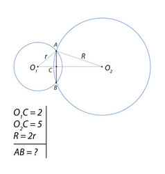task of finding a common chord-01 vector image