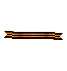 Two-color Ribbon Order of St George For service vector