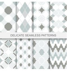 Vintage ornamental patterns - seamless vector