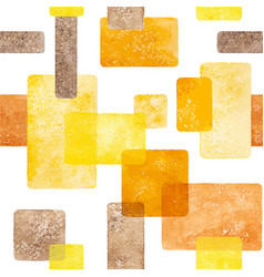 warm watercolor geometric abstract seamless vector image