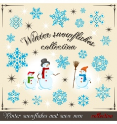 winter collection 2 vector image