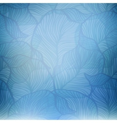 Abstract blue vintage background vector image