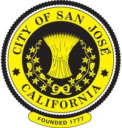 San Jose City Seal vector image vector image