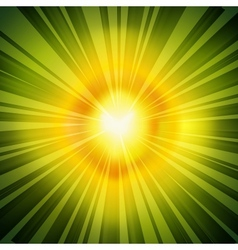 Radial Rays Background vector image vector image