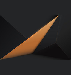 abstract 3d simple modern low polygon background vector image
