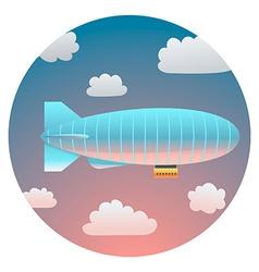 Airship Detailed vector image vector image